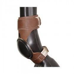Pool's Equitazione Skid Boots in cuoio