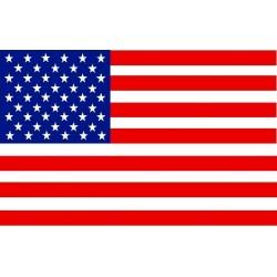 Pool's Equitazione Bandana fantasia bandiera USA