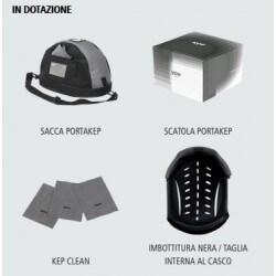 Kep Italia Cromo Carbon PLAIN WEAVE