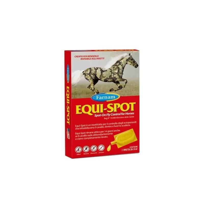 Chifa Equi-Spot Insetticida Spot On per cavalli 3x10ml