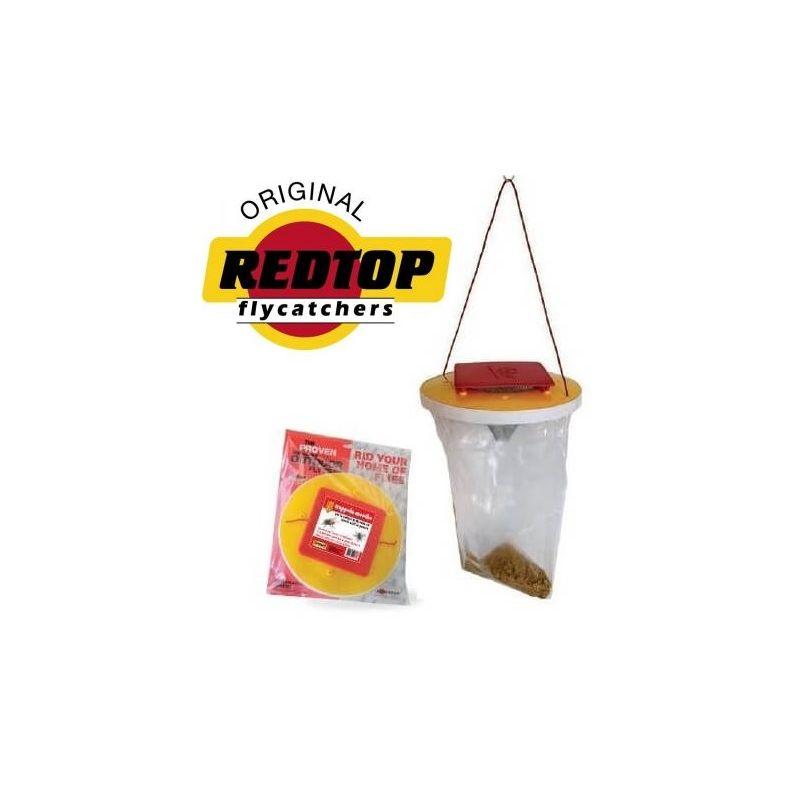 Redtop flycatchers Trappola per Mosche 80mq per 4 - 6 settimane