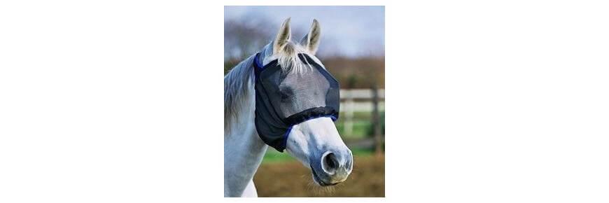 Maschere Antimosche Anti Insetti per Cavalli