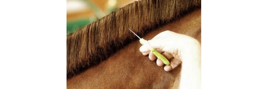 Forbici per Cavalli per fasce criniera e sfolti criniera